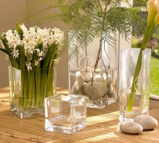 Комнатные цветы в напольных вазах фото