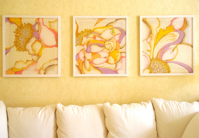 Дизайн картин из батика