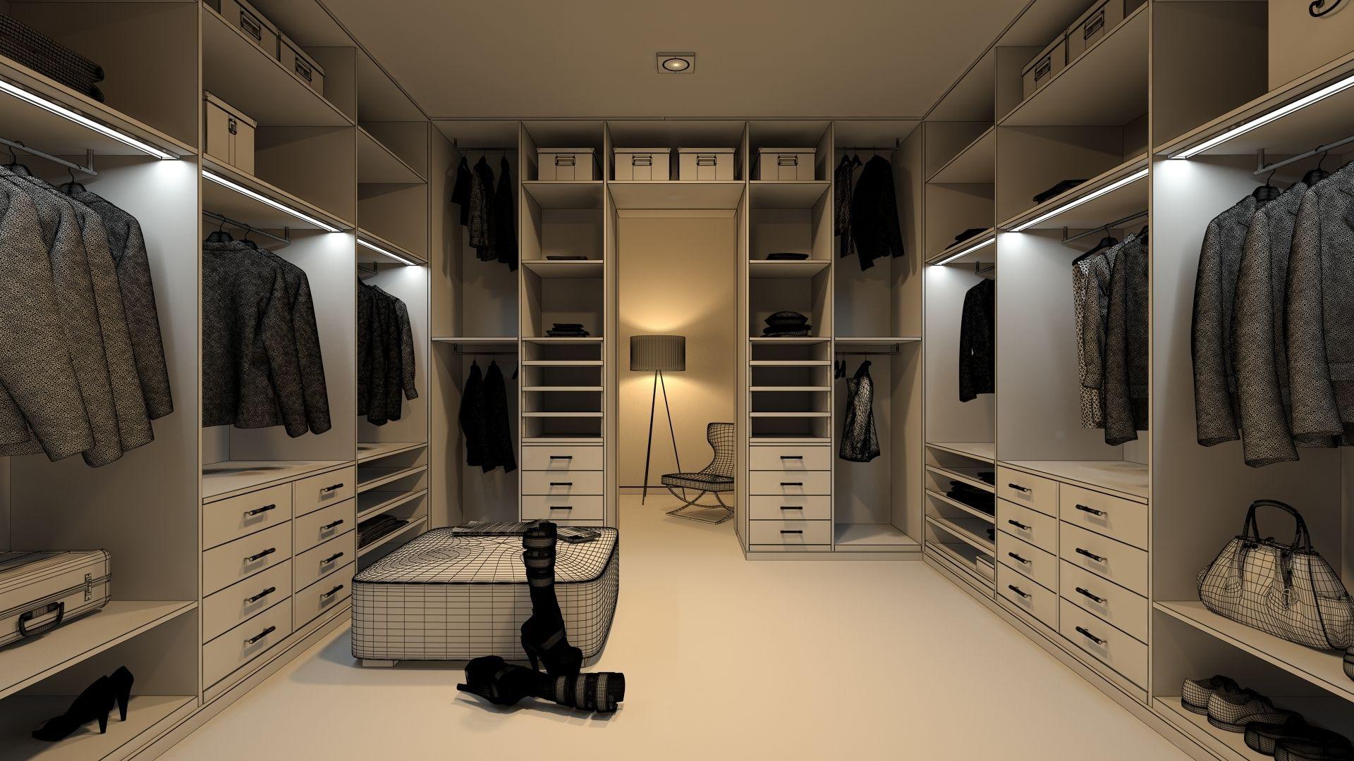 df249f715726 Как грамотно и красиво оформить гардеробную комнату? — Агентство ...