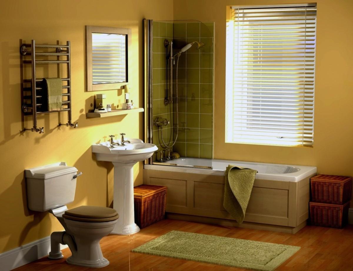 Картинка ванная и туалет