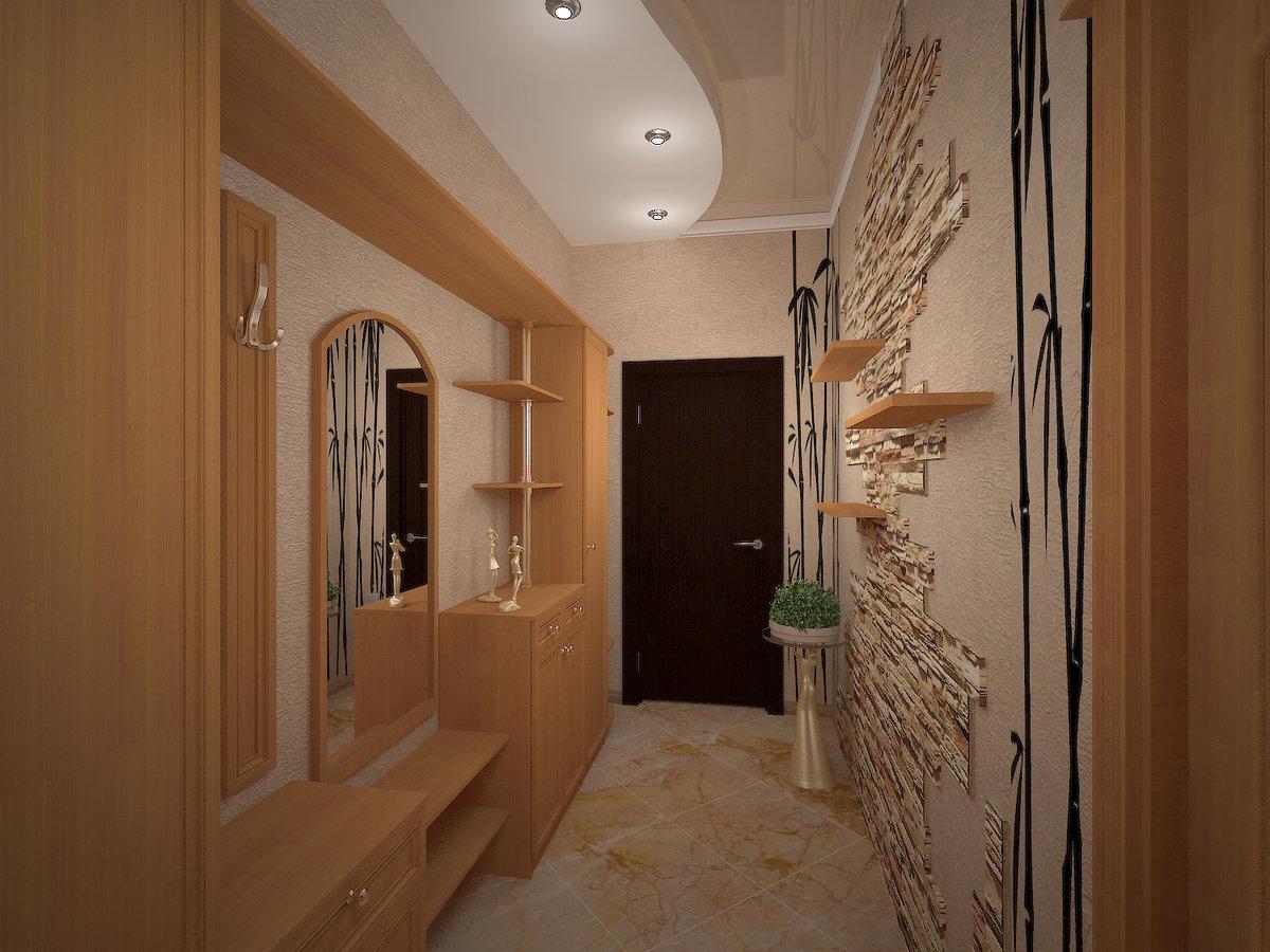реальное фото узкий и длинный коридор наше время