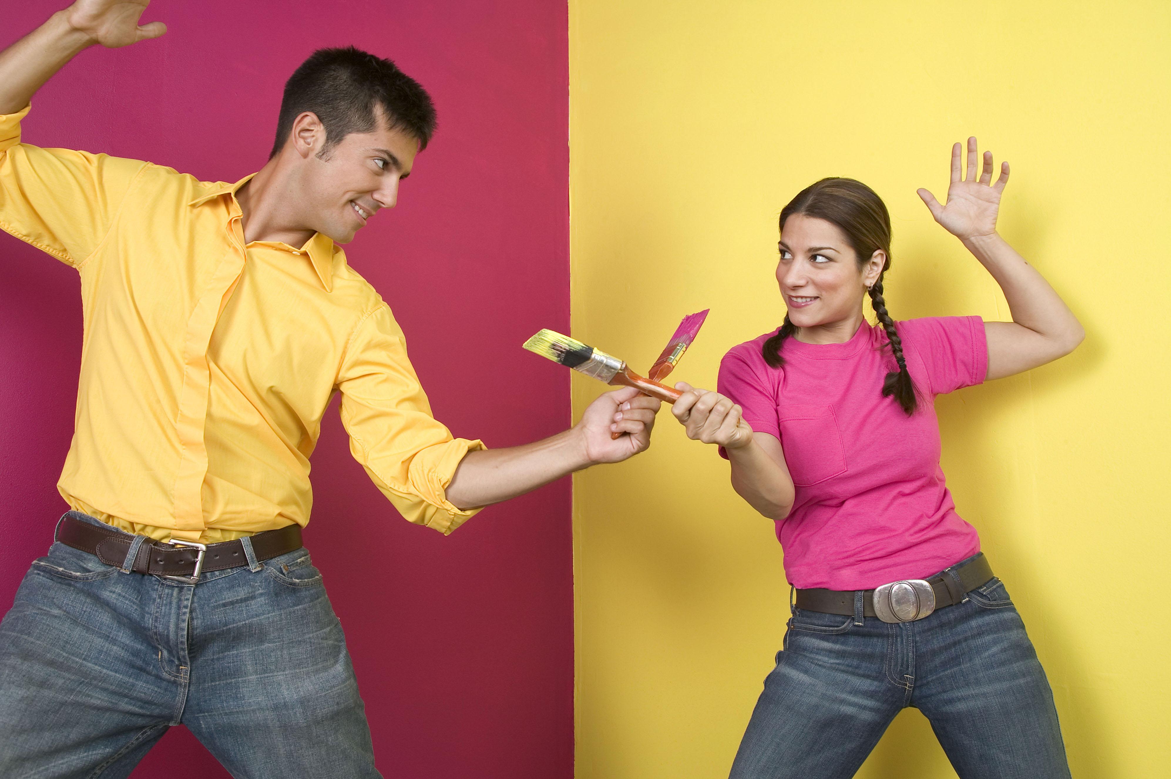 Смешные картинки муж с женой делают ремонт, днем