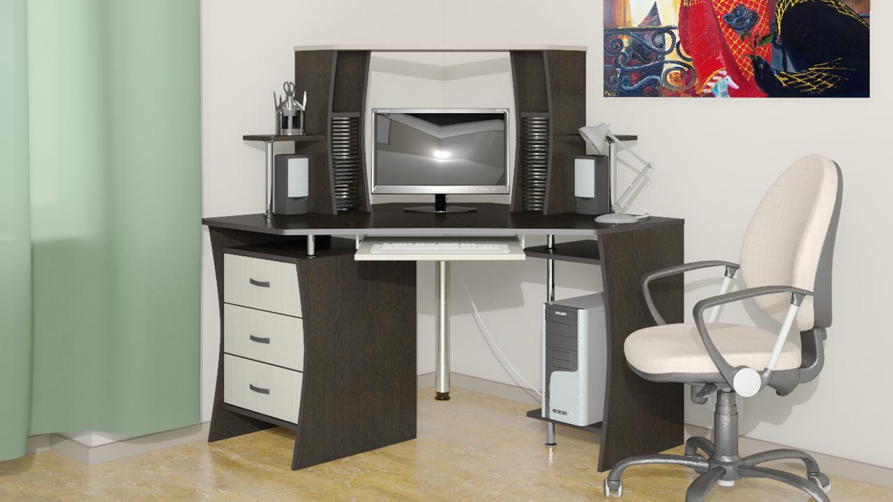 Купить компьютерный стол недорого в москве в интернет магази.