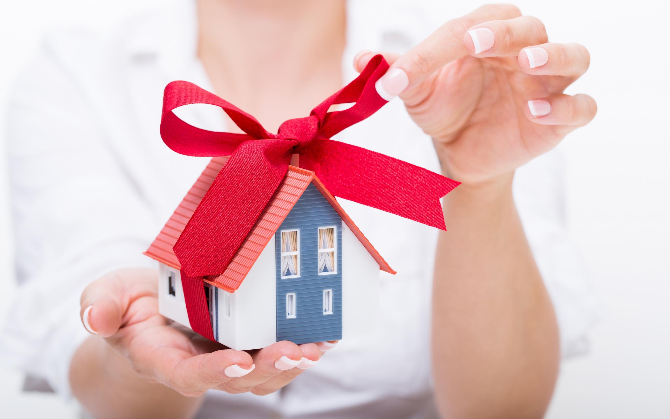 Для частного дома подарок 71