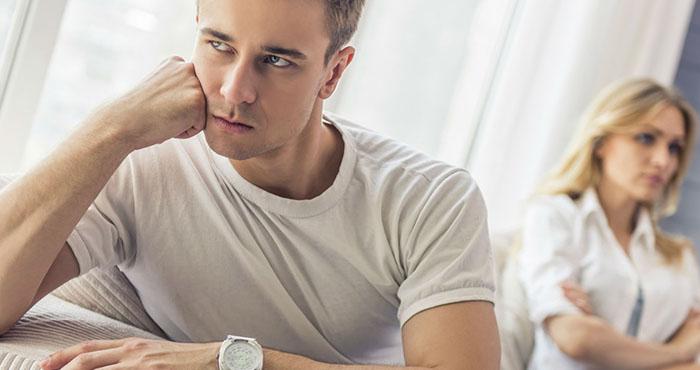 Мужчина отказывается от секса ссылаясь на усталость