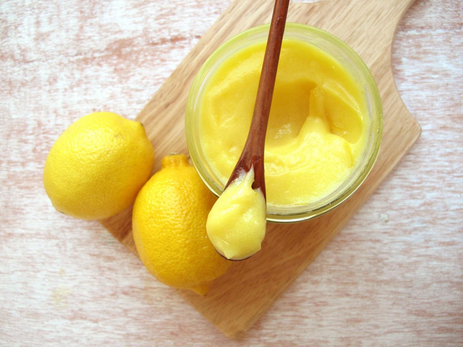 Фото лимонный курд