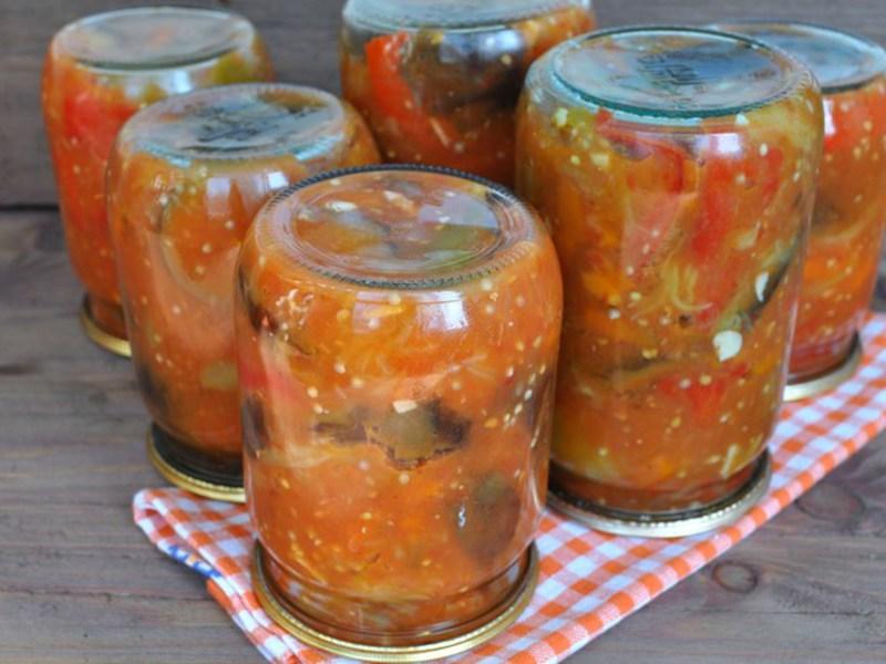 Рецепты простые и вкусные салатов на зиму