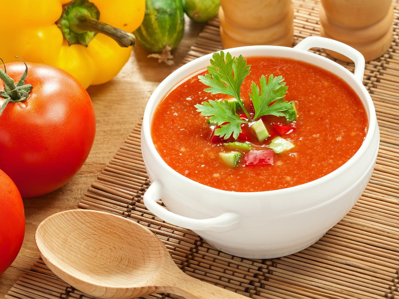 Томатный суп-пюре классический рецепт