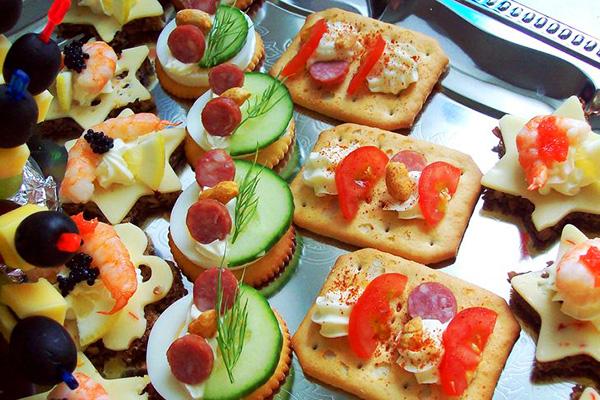 Рецепты бутербродов для праздников