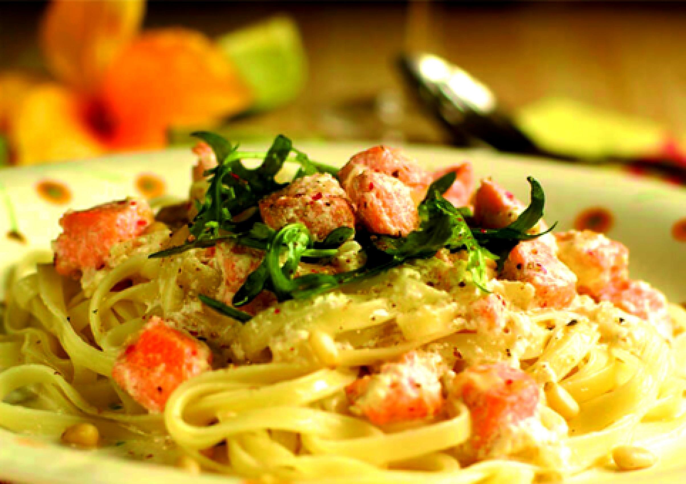 Как вкусно приготовить пасту с креветками в сливочном соусе рецепт