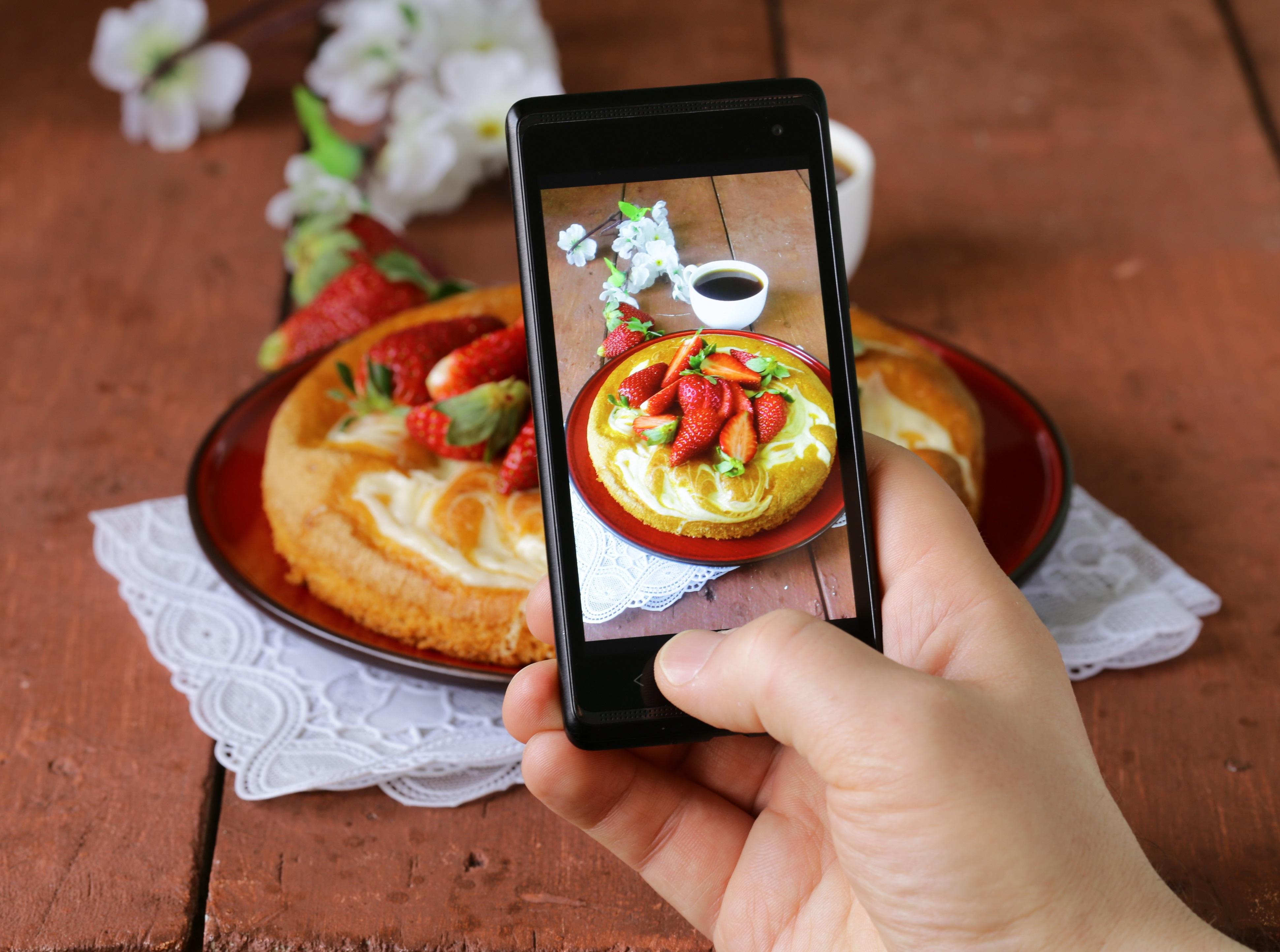 Как фотографировать еду для инстаграмма певица думает